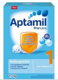 德国爱他美 Aptamil Pronutra 1段婴幼儿配方奶粉1.2kgX3盒