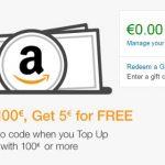测RP,德亚礼品卡充值满100欧送5欧