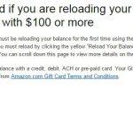 测人品,美国亚马逊礼品卡充值满$100送$5