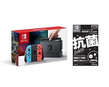 再补货: 任天堂 Nintendo SWITCH 游戏机(带膜版)29980日元+6139日元含税直邮