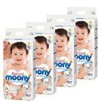 尤尼娃 Moony Nature 皇家自然棉系列四包装NB/S/M/L限时最高额外优惠10%OFF