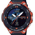史低价!卡西欧 CASIO  WSD-F20-RG RPO TREK GPS 户外智能登山腕表