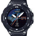 史低价补货!卡西欧 CASIO WSD-F20-BK RPO TREK GPS 户外智能登山腕表