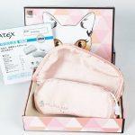 爆款史低价补货!林心如婚礼伴手礼 ATEX AX-KX511pk 便携式舒缓眼睛疲劳日本猫咪蒸汽眼罩