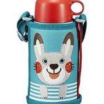 好价补货!虎牌 Tiger 兔子 MBR-B06G-AR 2WAY不锈钢直饮附带饮水杯盖水壶 附杯套