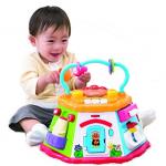 补货!面包超人 多功能六面屋七面体六面塔宝宝音乐玩具益智早教多功能玩具