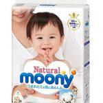 尤妮佳 Natural Moony 皇家系列 婴儿纸尿裤 NB/S/M号