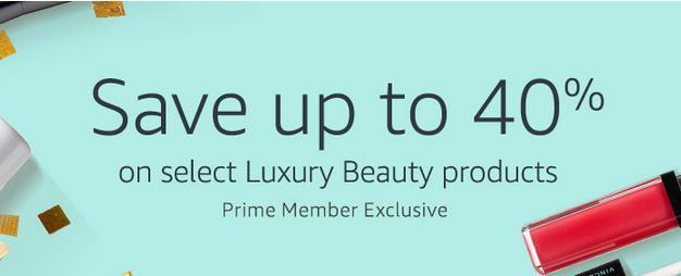 美亚精选美妆护肤类商品最高额外6折