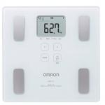 欧姆龙 OMRON  薄型设计 体重计 HBF-214-W 白色