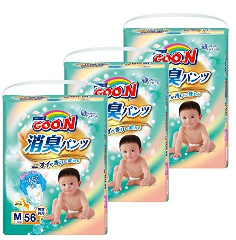 7折+订购省!大王 GOO.N 消臭拉拉裤 M/L/XL 3连包特价