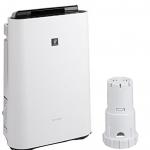 今日秒杀! 夏普Sharp 加湿空气净化器 搭载净离子群空气净化技术 白色 KC-F70-W+银离子滤芯 FZ-AG01K1 套装 史低价18700日元