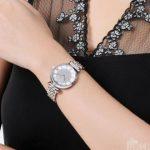 补货,Emporio Armani 阿玛尼 AR1925 银色满天星女士时尚腕表